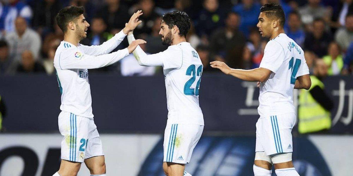 Sin Cristiano Ronaldo, Real Madrid gana y recupera el tercer lugar de la liga