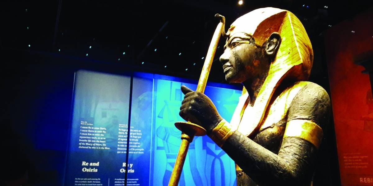 El rey Tutankamón llega a Los Ángeles