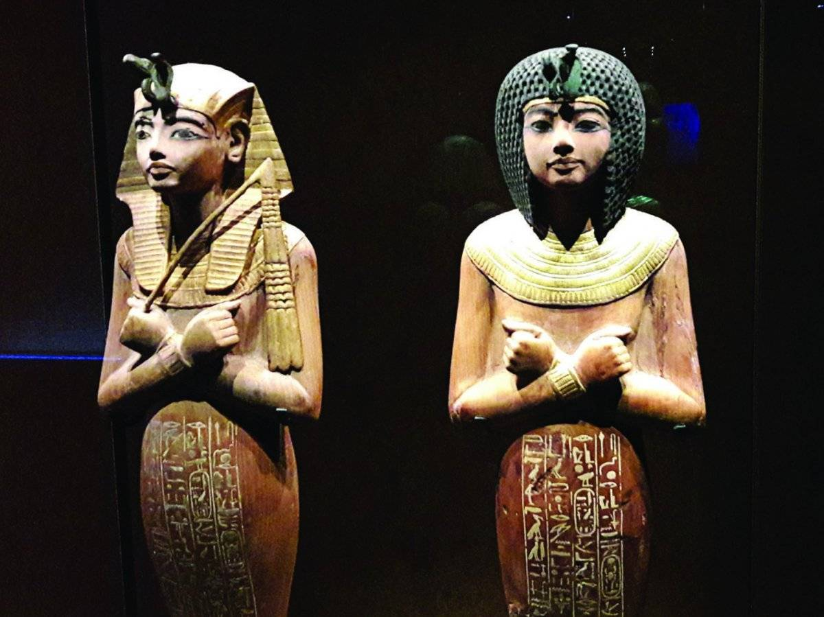 Tutankamón llega a Los Ángeles
