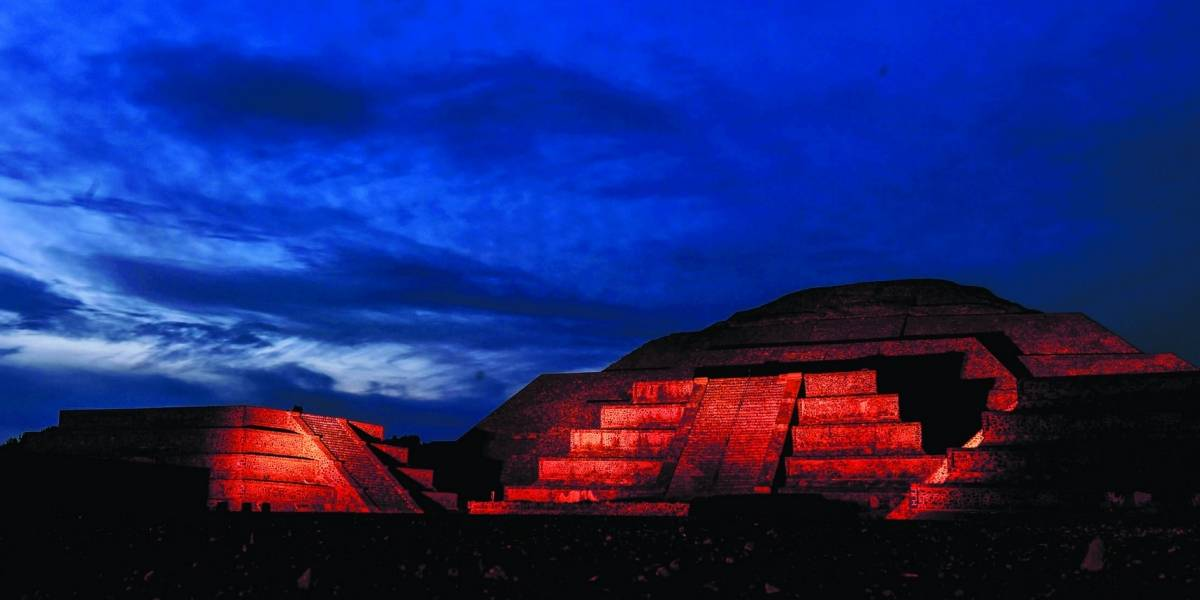 Teotihuacán brilla con sus noches de luz y sonido