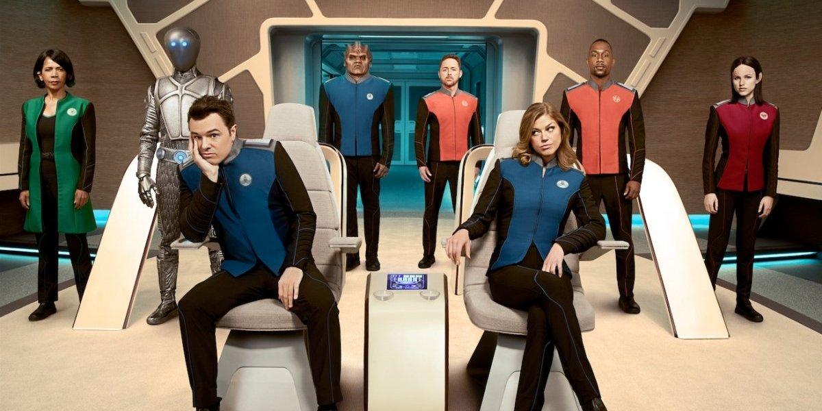 """Comedia y ciencia ficción en """"The Orville"""", lo nuevo de Seth MacFarlane"""
