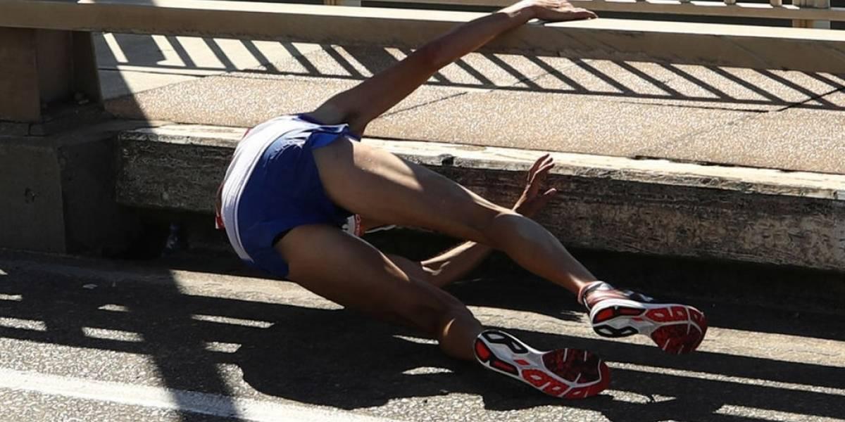 Gold Coast: el desgarrador colapso del maratonista Callum Hawkins a dos kilómetros de la meta cuando ganaba cómodamente