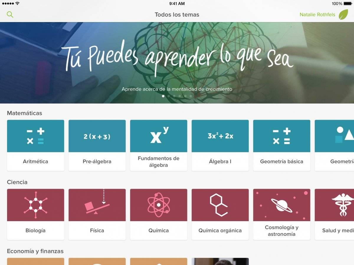 Khan Academy educacion online
