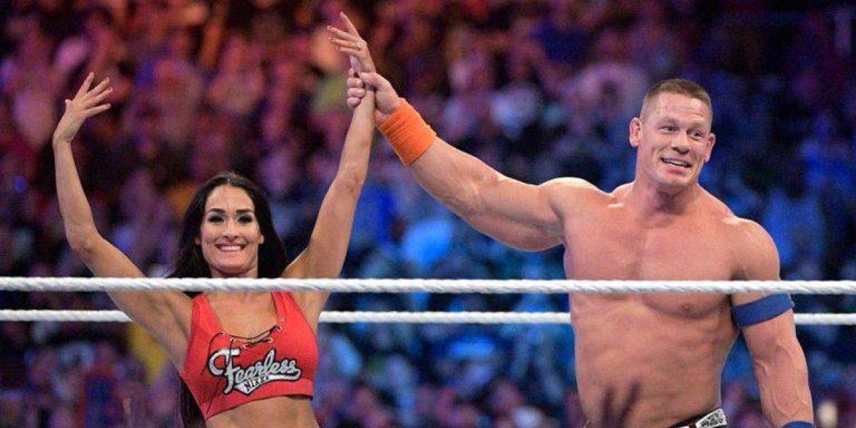 Anuncia separación Nikki Bella con Jhon Cena