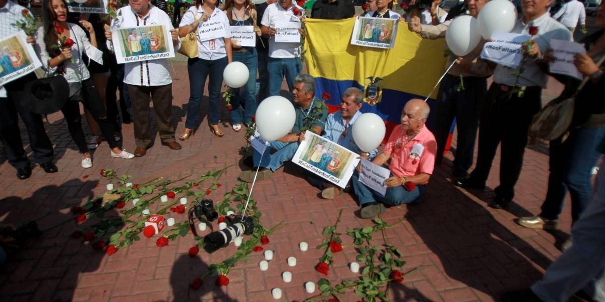 Frente Oliver Sinisterra habría suspendido entrega de cuerpos de periodistas asesinados