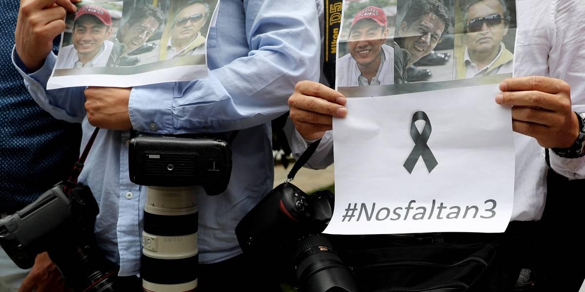 Cruz Roja espera recibir los cuerpos de periodistas pese a suspensión de entrega