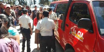 accidente en Quetzaltenango deja ocho heridos