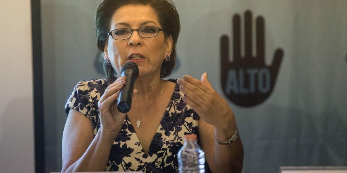 Miranda de Wallace pide a candidatos propuestas para erradicar el secuestro
