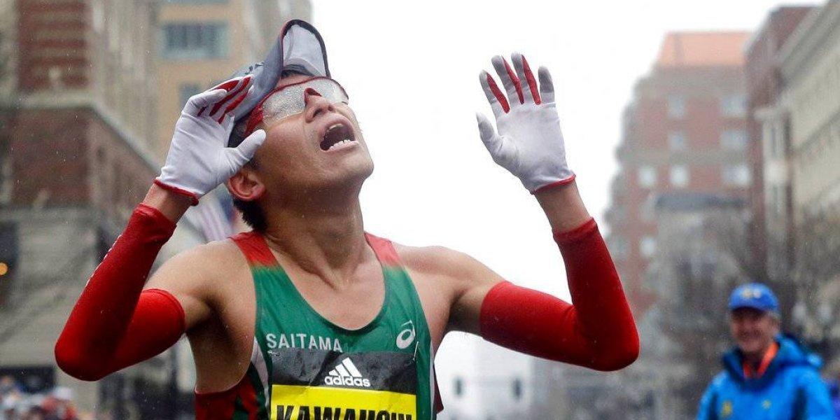 Kawauchi, primer campeón de Japón en Boston desde 1987