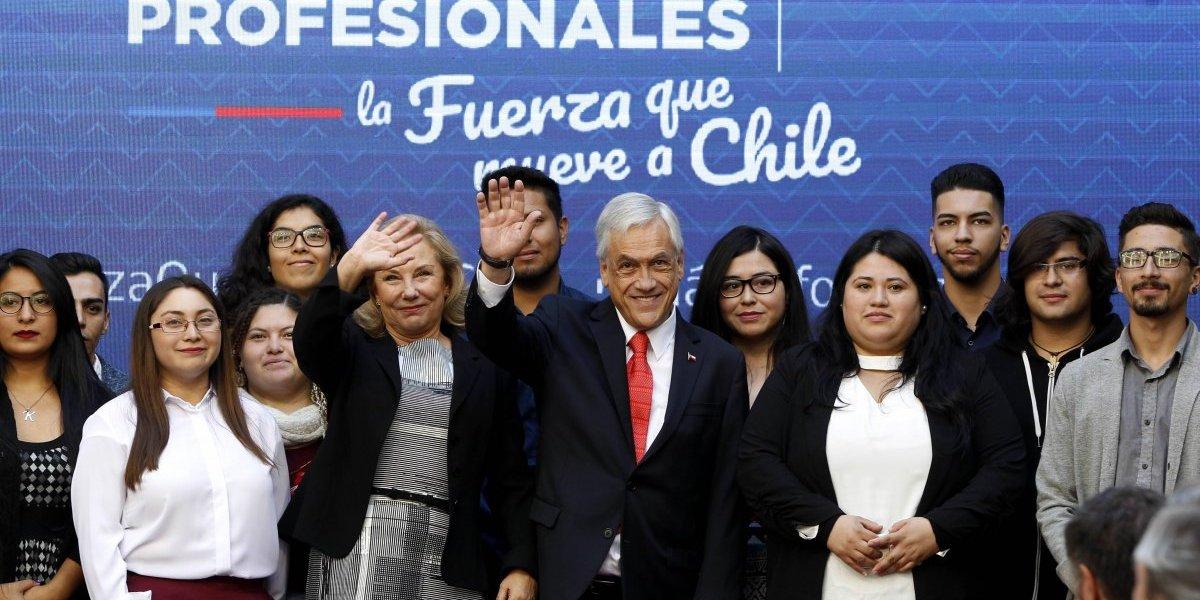 Beneficiará a 13 mil estudiantes: Presidente Piñera firmó proyecto de ley que aumenta la gratuidad para alumnos de IP y CFT