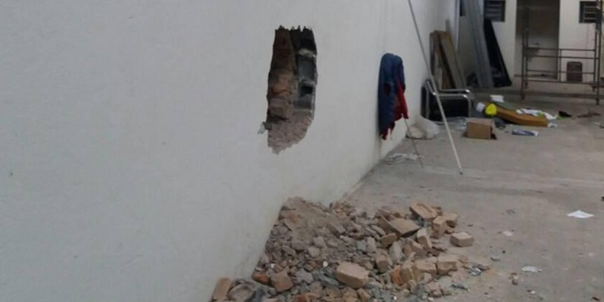Quadrilha abre buraco em parede de loja e é presa por furto na zona leste de São Paulo