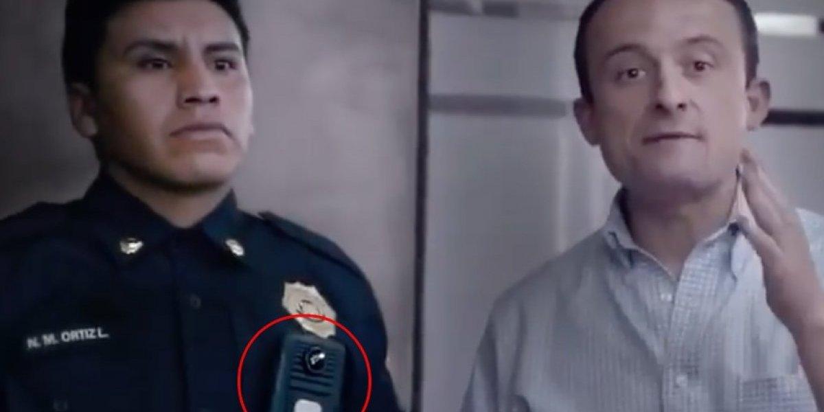 Mikel Arriola propone instalar cámaras en uniformes de policías
