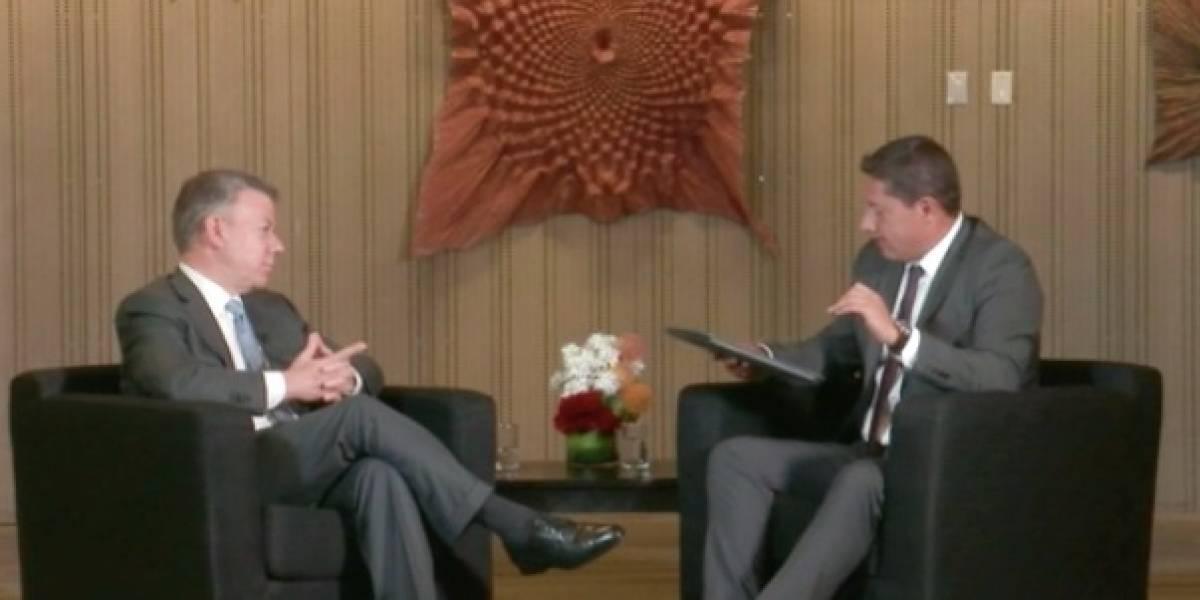 """Juan Manuel Santos: """"Las zonas fronterizas han sido tierra de nadie"""""""
