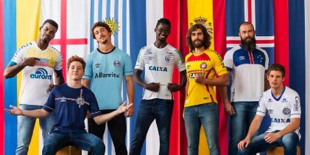 Equipos brasileños vestirán los colores de selecciones invitadas al Mundial