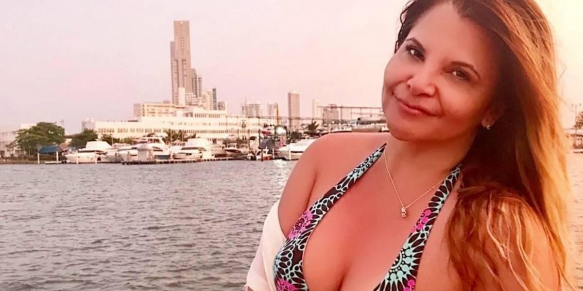 ¡Muy sexy! Así se mostró Diva Jessurum en vestido de baño durante sus vacaciones en Islas del Rosario