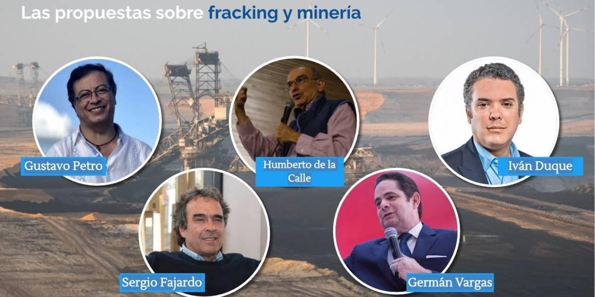 Fracking y minería: ¿qué proponen los candidatos sobre este tema?