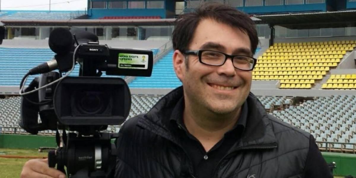 """""""Toda historia tiene su final"""": despiden a histórico periodista deportivo de Canal 13"""