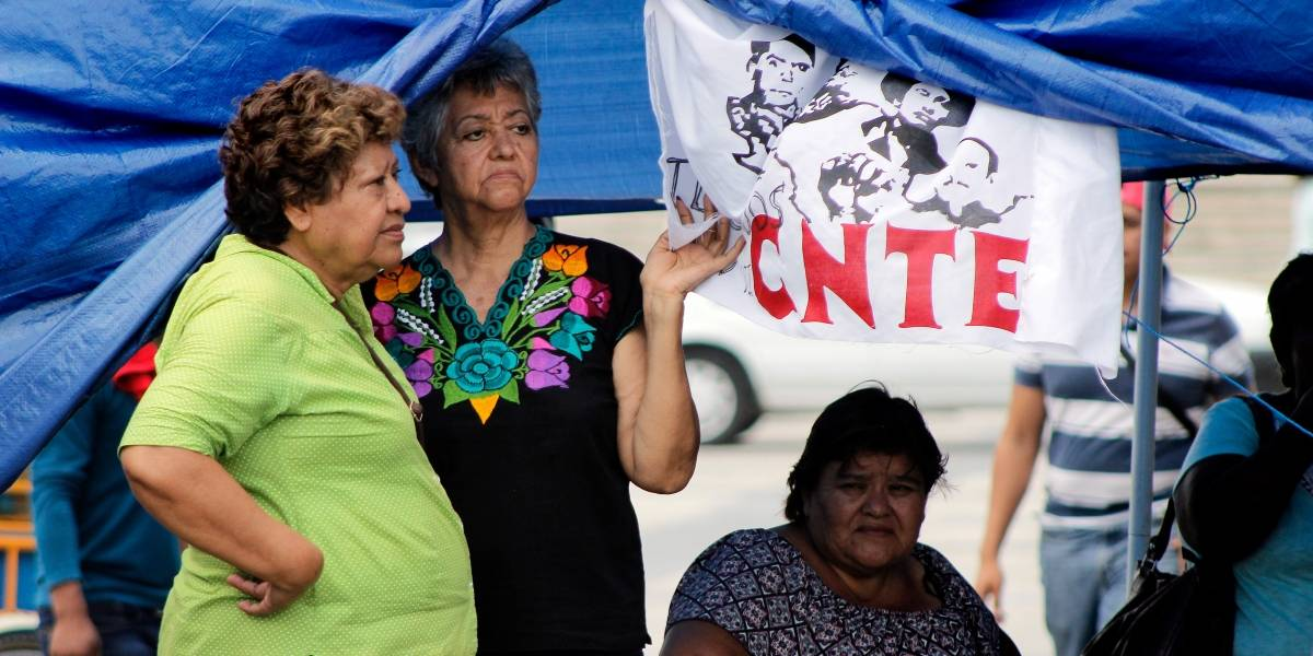 CNTE advierte que continuarán protestas en eventos de Meade