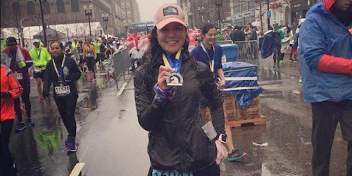 Cynthya Lozada y Víctor Valdelamar, mexicanos mejor ubicados en Maratón de Boston