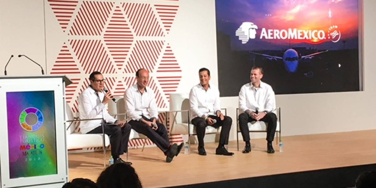 Entre enero y marzo 3.2 millones de mexicanos viajaron con Aeroméxico