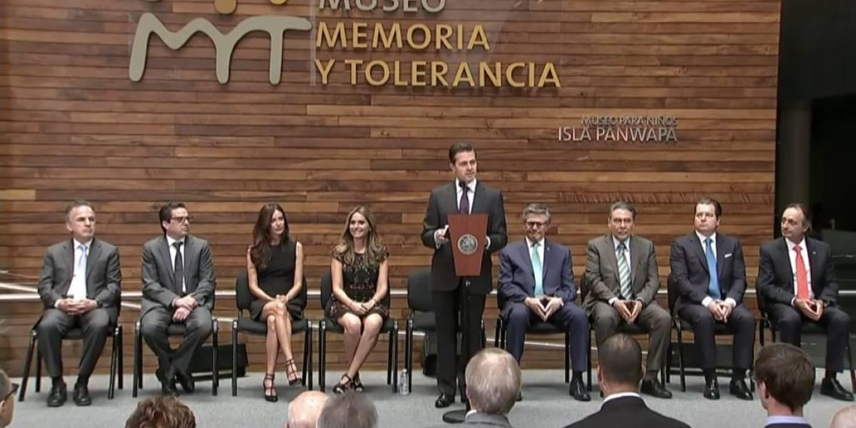 Un gobierno que no acepta la crítica, siembra intolerancia y confrontación: Peña Nieto