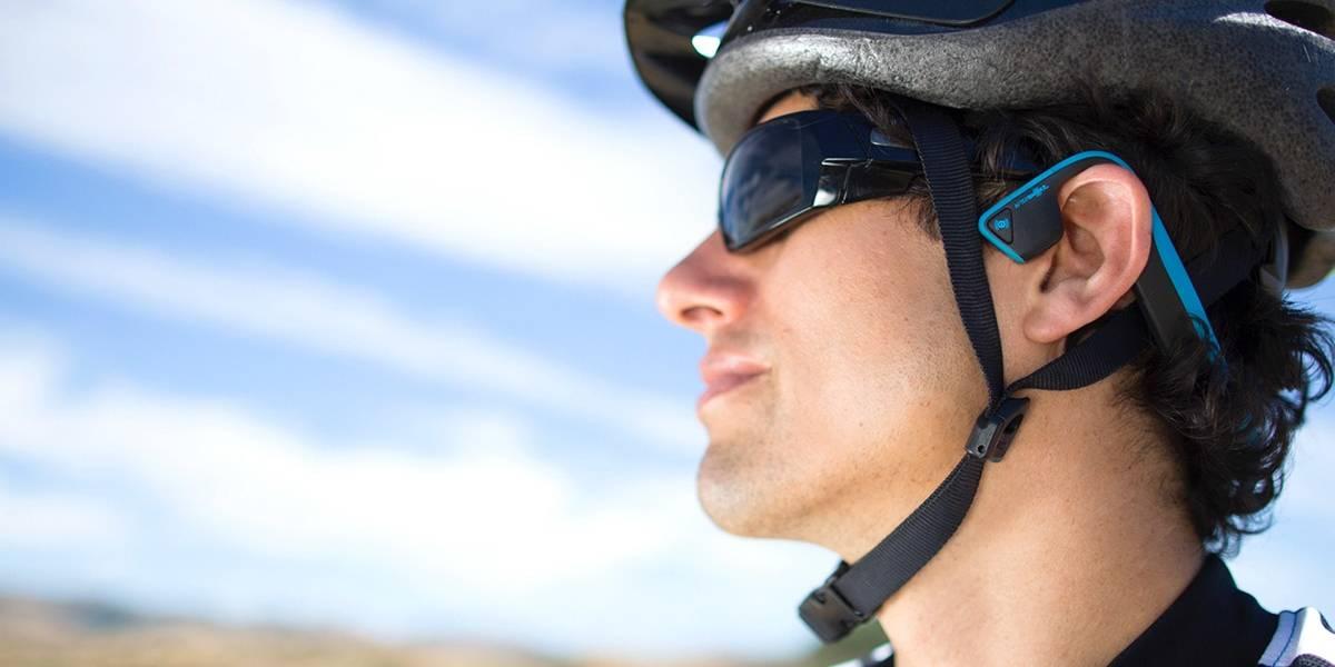 Novedosos audífonos te permiten escuchar a través de la vibración de tus huesos