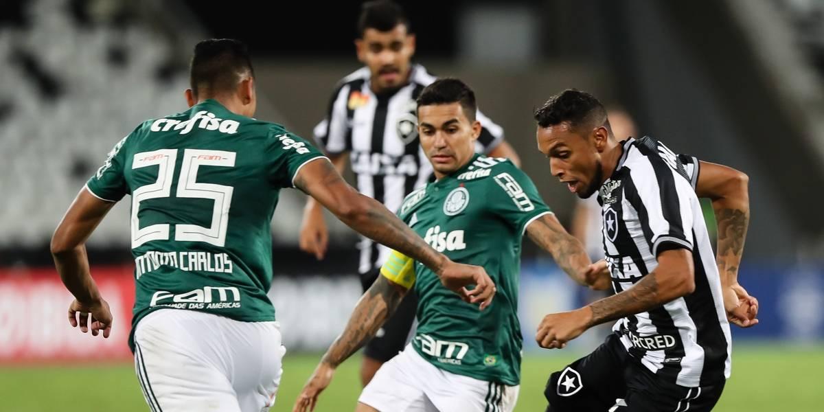 Estreia decepcionante para Palmeiras e Botafogo no Campeonato Brasileiro