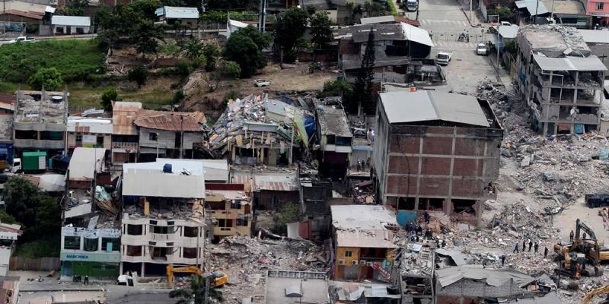 Ecuador destinó USD 3 millones en reconstrucción tras terremoto en Manabí