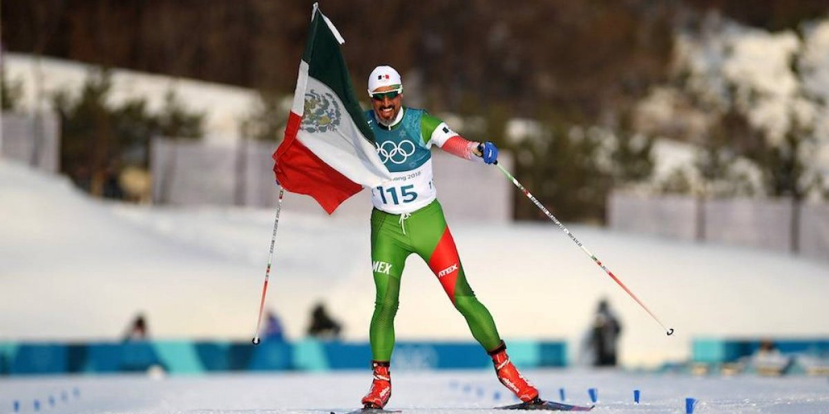 Germán Madrazo, el atleta que inmortalizó a México en PyeongChang 2018