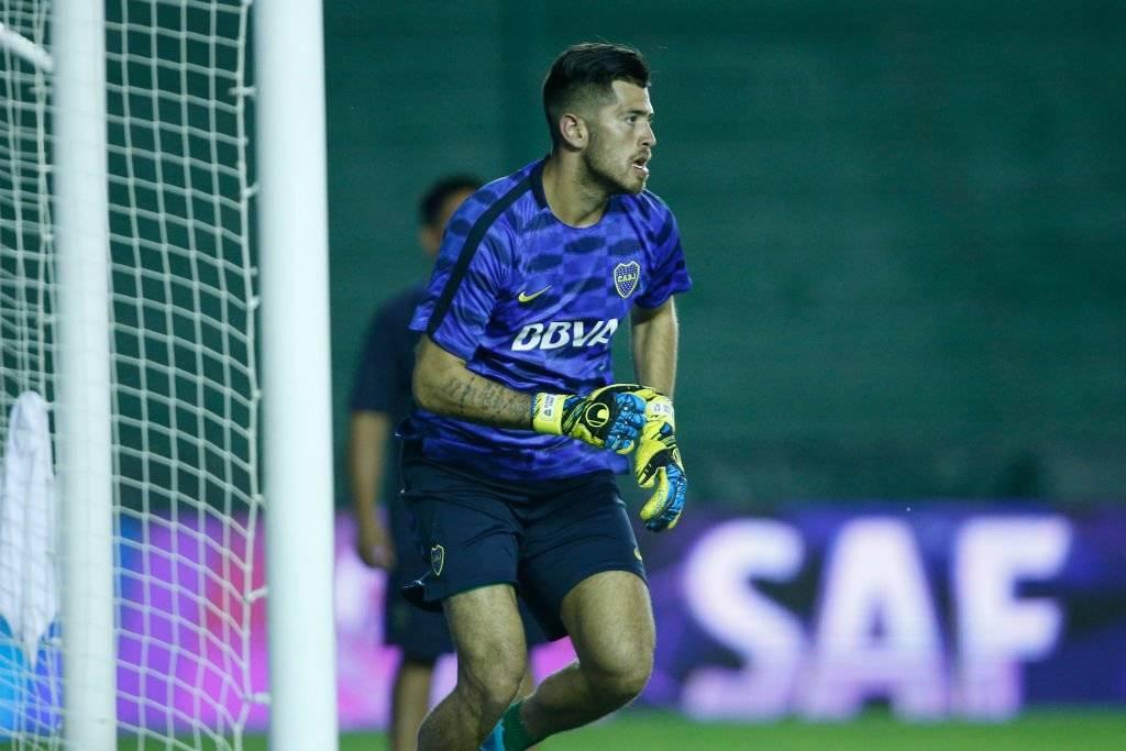 Agustín Rossi, de 22 años, viene siendo el meta titular de Boca Juniors / Foto: Getty Images