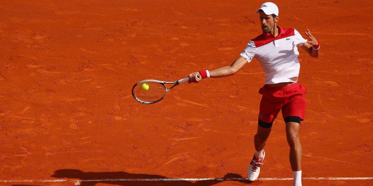 Djokovic comenzó con el pie derecho el Masters de Montecarlo