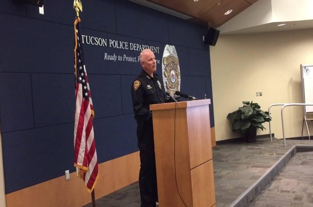 Chris Magnus Policia Tucson Isabel Celis