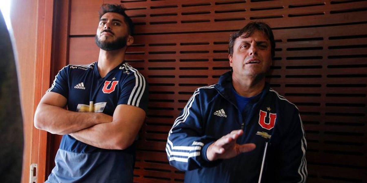El fuerte respaldo que le entregaron Hoyos y Herrera a Beausejour en su día más difícil en la U