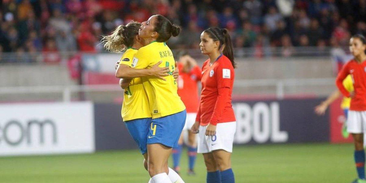 Brasil impuso su poderío y jerarquía ante Chile en el inicio del cuadrangular final