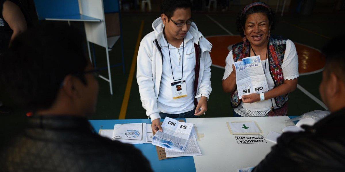 """Consulta Popular: En Guatemala gana el """"sí"""""""
