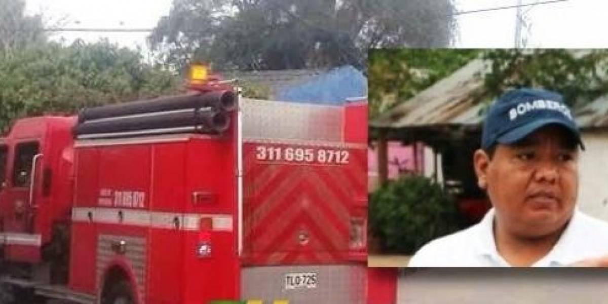 ¡Nadie se salva de los robos! Atracan estación de bomberos de población colombiana
