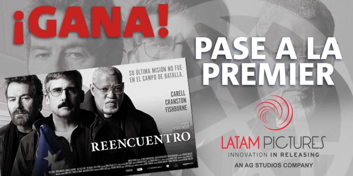 "¡Gana! pase doble para la premier ""Reencuentro"""