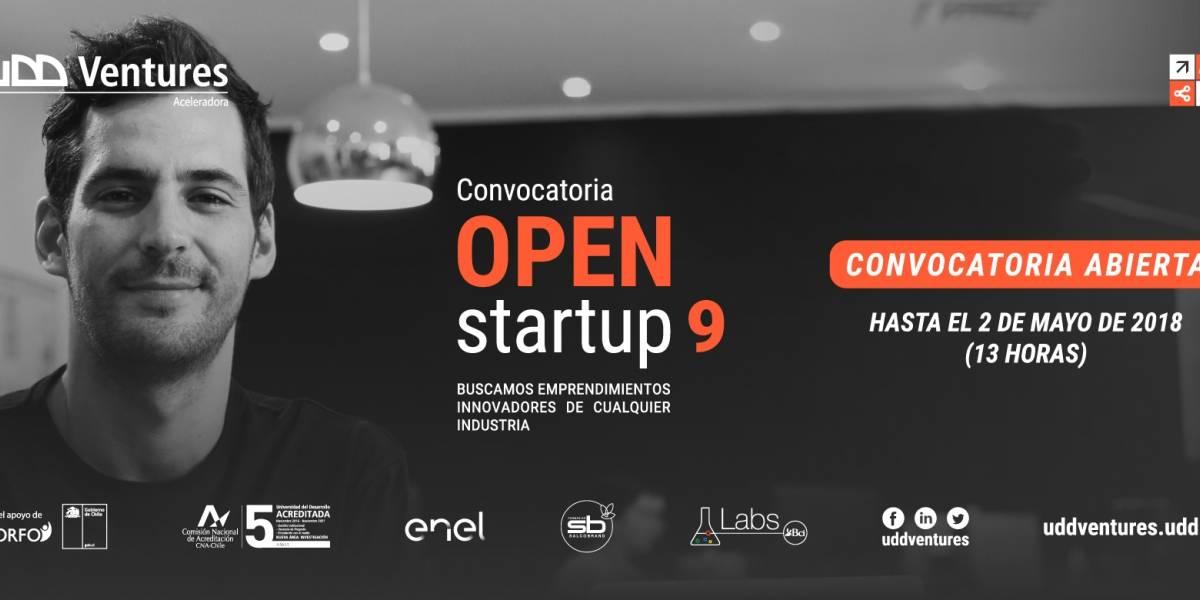 Ojo innovadores: queda menos para inscribirse en 9º versión de Open Startup