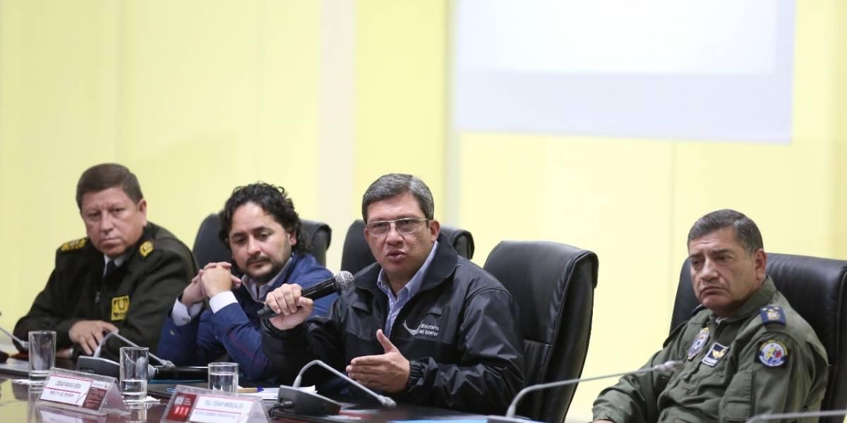 César Navas puso a disposición su cargo desde que asumió como Ministro del Interior