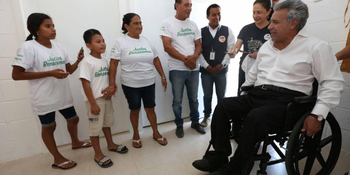 Lenín Moreno sobre delincuencia organizada: ¡los vamos a perseguir y los vamos a castigar!