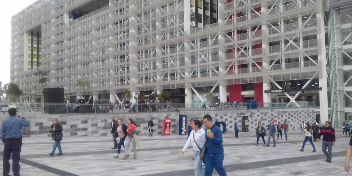 Amenaza de bomba en Plataforma Financiera de Quito — Ecuador