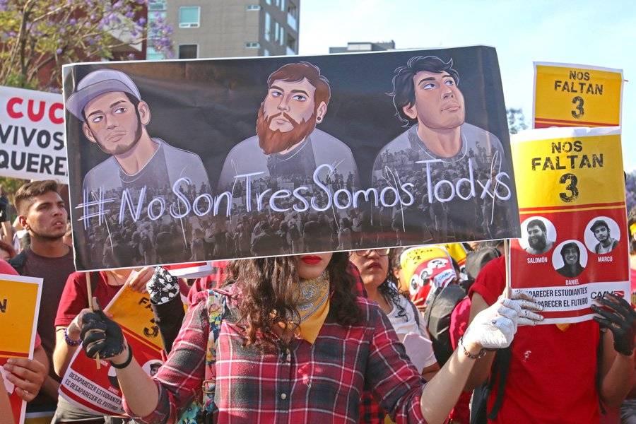 Se solidarizan michoacanos con asesinato de estudiantes en Jalisco