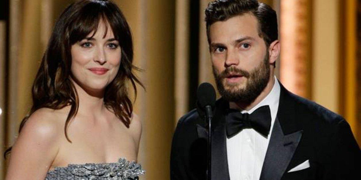 Jamie Dornan revela o que sussurra para Dakota Johnson nas cenas de sexo de '50 Tons de Cinza'