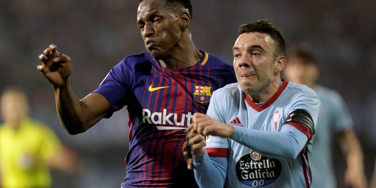 ¿Yerry Mina estuvo a la 'altura' del Barcelona?