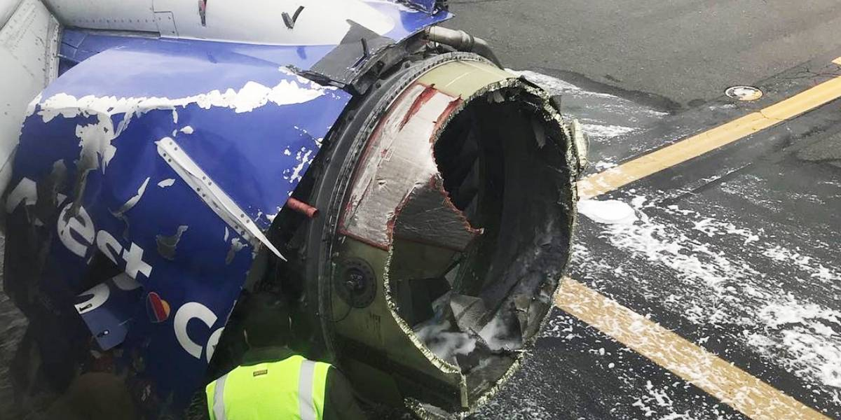 Confirman un muerto en el aterrizaje de emergencia de un avión en Filadelfia