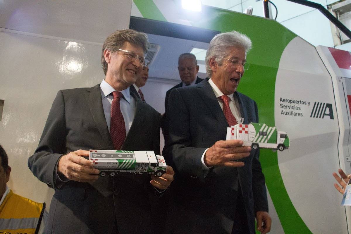 El proyecto fue presentado por el titular de STC, Gerardo Ruiz Esparza. Foto: Cuartoscuro