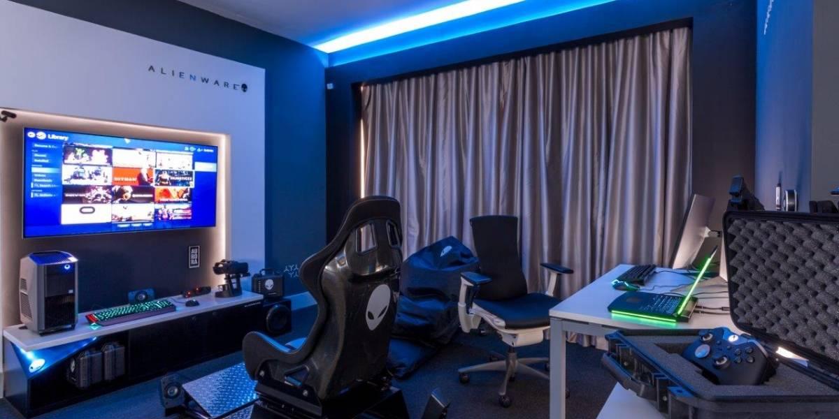Primera habitación de hotel para los amantes del gaming
