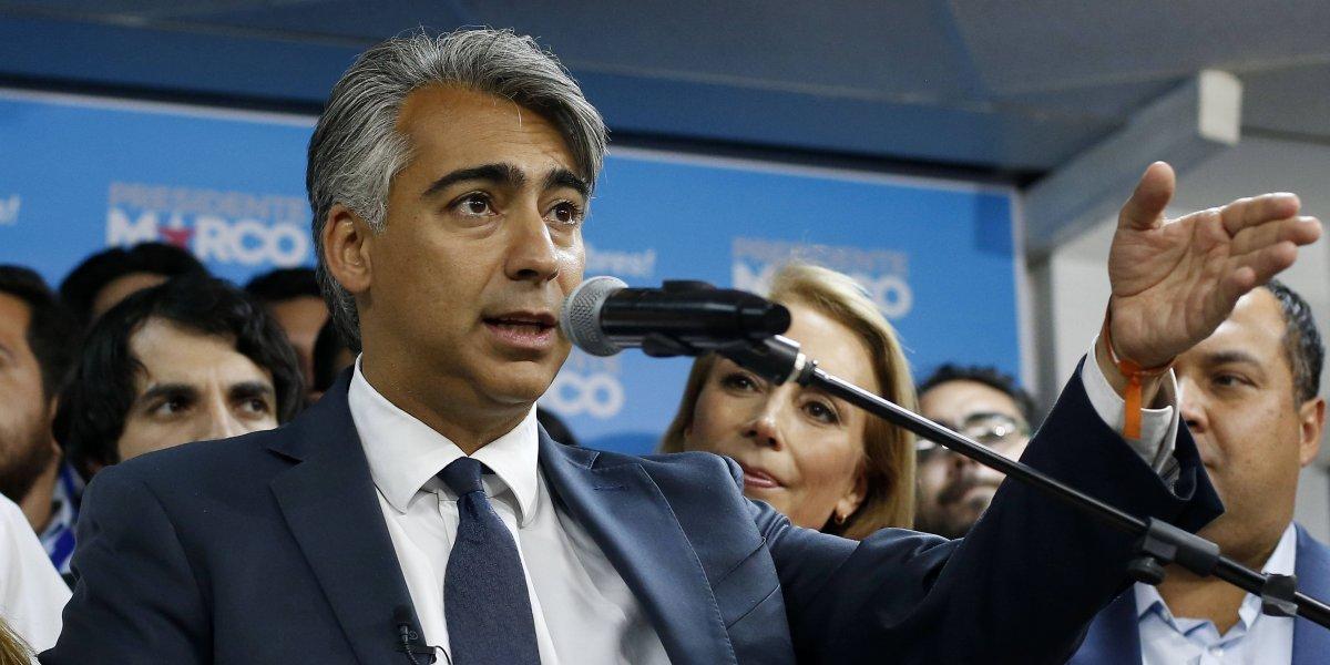 """""""Soy inocente de todo lo que se me acusa"""": Marco Enríquez-Ominami sale al paso tras declaraciones de Contesse por caso SQM"""