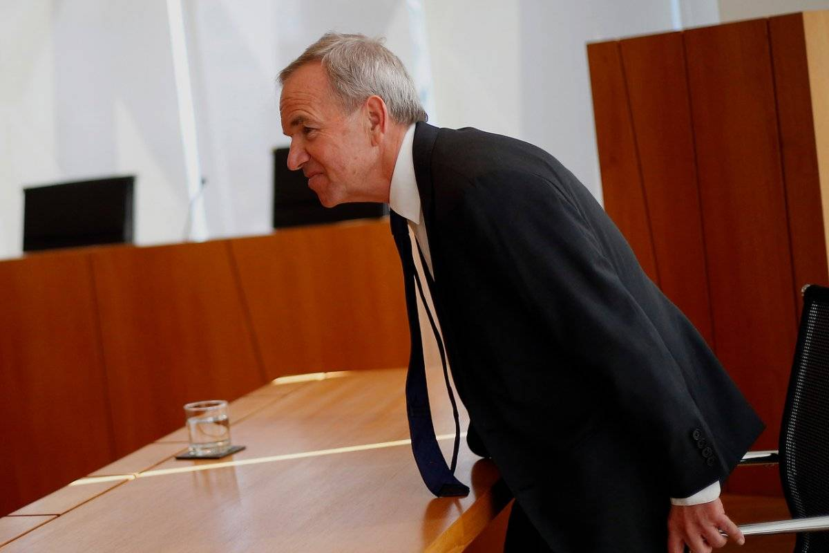 Gabriel Ruiz-Tagle declaró en agosto de 2016 ante el Tribunal de Libre Competencia por el caso colusión / imagen: Agencia UNO