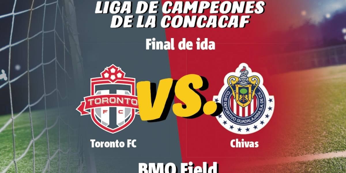 Chivas se impone sobre el Toronto FC en la final de ida de la Concachampions